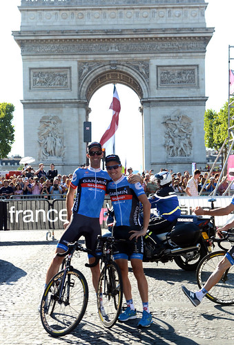 David Millar, Christian Vande Velde - Tour de France, 2012 - stage 20 | by Team Garmin-Sharp
