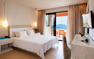 The Deluxe Double Room of the Kassandra Bay Hotel | by KB Collection Hotels & Resorts