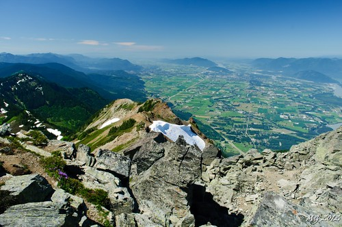 Mount Cheam Ridge and the Valley Below | by Michael Garson