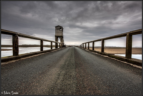 Road shot to Lindisfarne | by Martin Steele.
