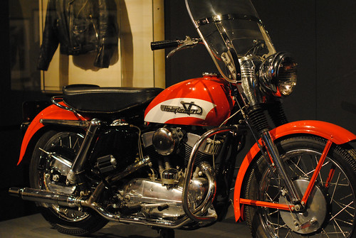 Elvis Presley's 1956 Harley-Davidson Model KH Motorcycle | by lisabeephotos