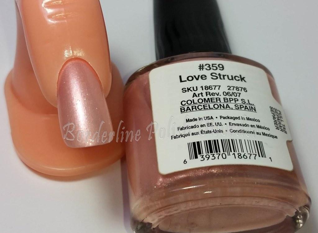 Creative Nail Design Cnd 359 Love Struck Borderline Polish