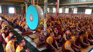 Monk Group Receiving Empowerment - P1000577 | by Palyul
