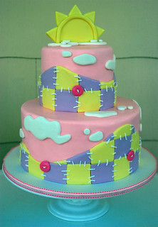 Pink Patchwork Baby Shower | by Sweet Fix