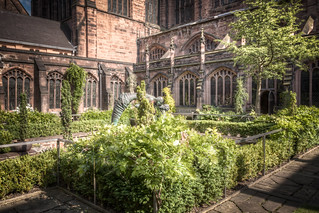 Cathedral Cloister Gardens 2012 | by Mark Carline
