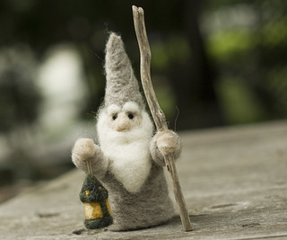 Needle Felted House Wizard | by dan_spun