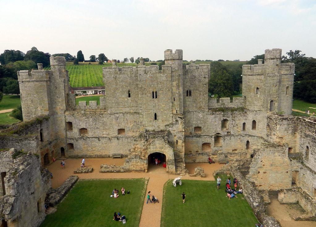 ... Bodiam Castle, Near Robertsbridge, East Sussex, England, UK | By A  Travelling