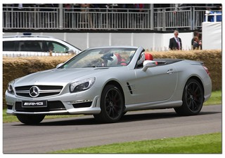 Mercedes Benz SL 63 AMG Roadster Supercar. Goodwood Festival of Speed 2012 | by Antsphoto