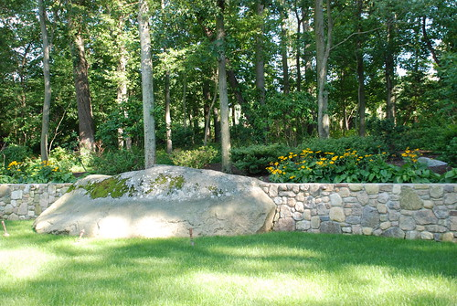 Integrated Stone Wall | by ThayerNursery