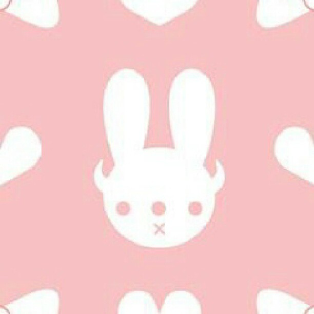 Bunny Wallpaper Pattern Background Youll Find This And In Other