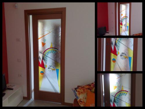 Glasstyle serglas vetrate artistiche lavorate su misura for Porte interne da obi prezzi