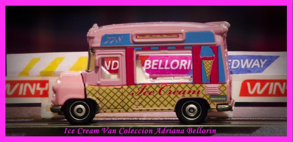... MATCHBOX ICE CREAM VAN Pink CITY LIFE 2011 1:64 V0312 | By  Andresbellorin