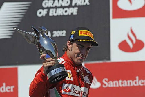 Fernando Alonso wins the 2012 Grand Prix of Europe | by AGPCF1