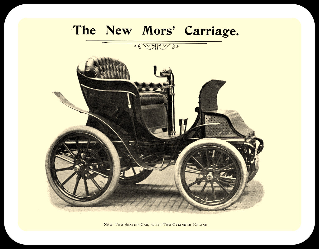 1899 mors carriage motor car seated flickr cars cylinder for Car carriage