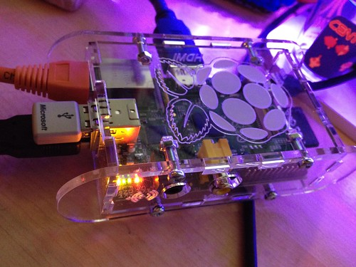 Raspberry Pi first power-on | by blakespot