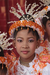 Mandalay - Boy dressed up for Novication Ceremony | by Rolandito.