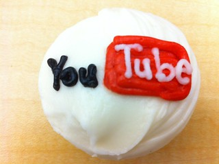 YouTube cupcake | by CateyCate