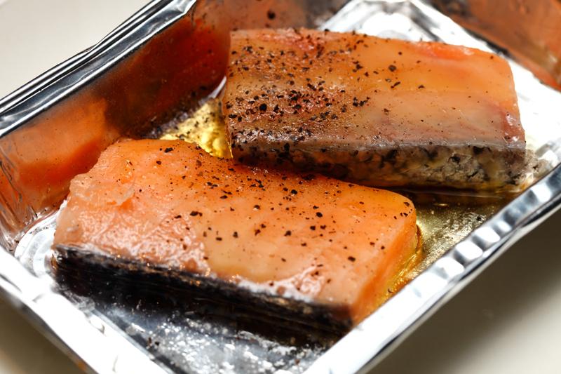 Gyukaku Salmon Foil