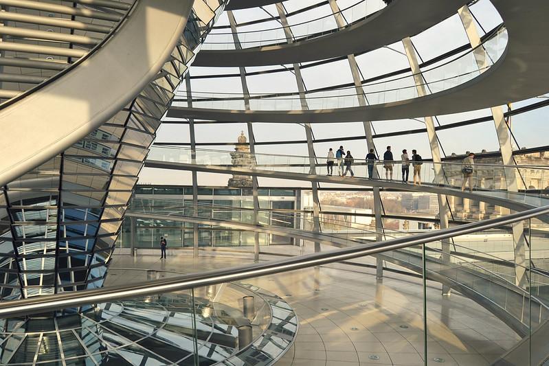cupula del Reichstag 1