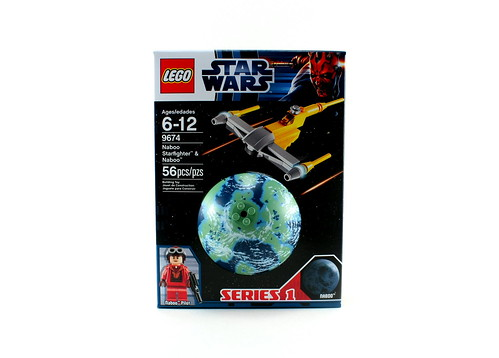 9674 Naboo Starfighter & Naboo - Box Front | by fbtb