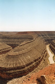 U.S.A.,Goose Neck panorama (Colorado River);  2001 August | by tango-