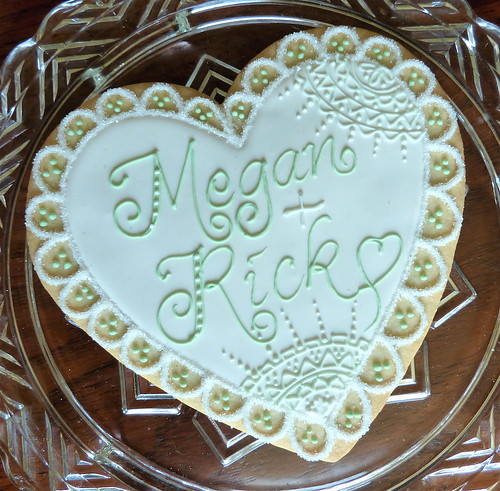 Wedding cookie gram | by kelleyhart