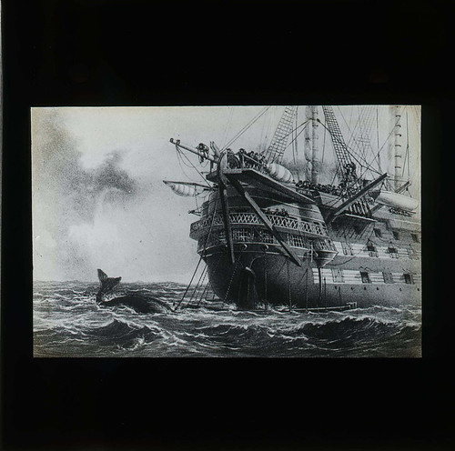 HMS Agamemnon (Lantern slide) | by The Postal Museum