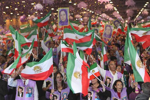 Maryam Rajavi 2- Villpinte Iranian gathering huge largest ever rally conference June 23  2012 | by jalal4liberty