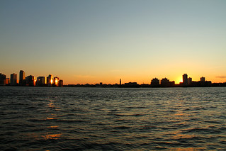 Hudson river sunset | by apmorcate