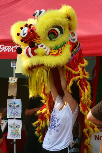 A Dragon and Her Puppeteer  A Chinese Dragon Puppeteer ...