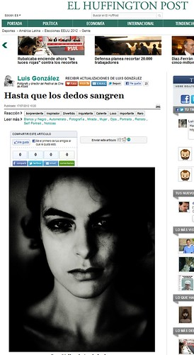 Post Huffington:  Brett Walker / Hasta que los dedos sangren | by una cierta mirada