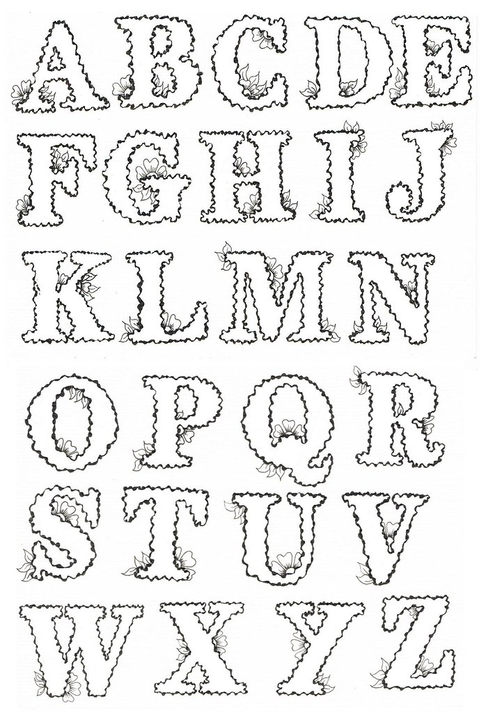 Letter outlines timiznceptzmusic letter outlines spiritdancerdesigns Image collections