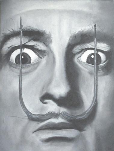 Salvador Dalí- Oleo - 30x40 - abrl 2012 | by Gastón Cat Here -