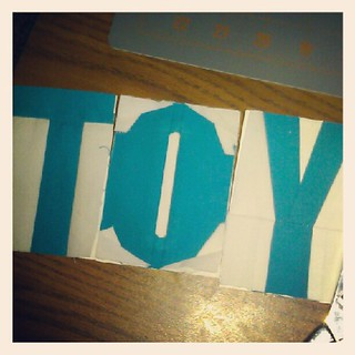Attempting my first paper pieced letters. So far so good... Just one more to go. :) | by Diane {From Blank Pages...}