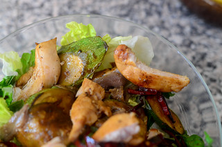 Roast Chicken and Courgette Salad - 27th August 2012 | by The Hungry Cyclist