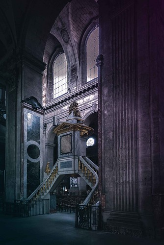 The pulpit in St. Sulpice in Paris | by Dennis Herzog