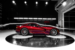 The 2013 SRT Viper's aerodynamics receive validation in the wind tunnel. | by driveSRT