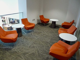 Foster Renovation orange chairs arrive 5 | by dan10things