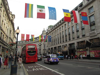 UK - London - Regent Street - Flags in honour of Olympic Games | by JulesFoto