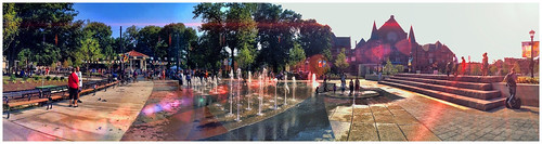 Cooling Off | Washington Park | iPhoneography | by Richard Cawood