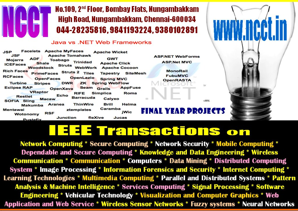 sw 3 | NCCT, Final Year Projects, IEEE Projects, ieee projec
