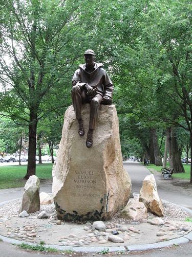 Samuel Eliot Morrison Statue Commonwealth Mall Boston