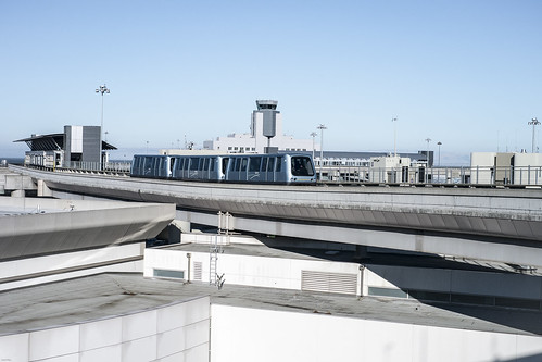 Airtrain at SFO | by SFAntti