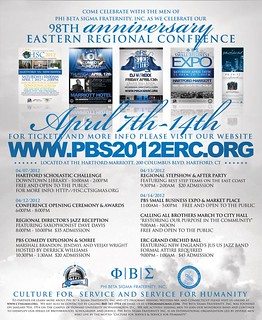 Eastern Regional Conference 2012 Events | by bluephi.net