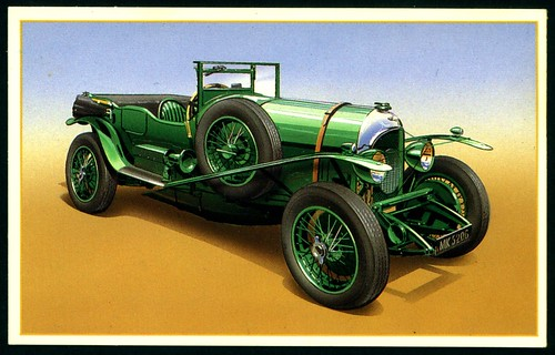 Tradecard - 1926 Bentley 3 litre | by cigcardpix