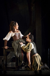 Vittorio Grigolo as Duke of Mantua and Christine Rice as Maddalena in Rigoletto © Johan Persson/ROH 2012 | by Royal Opera House Covent Garden