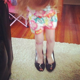 She loves her mamas heels | by colavon