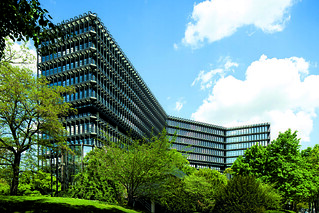 EPO headquarters, the Isar building in Munich | by European Patent Office - European Inventor Award