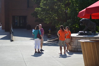 Student ambassadors greeting families. | by Rochester Institute of Technology