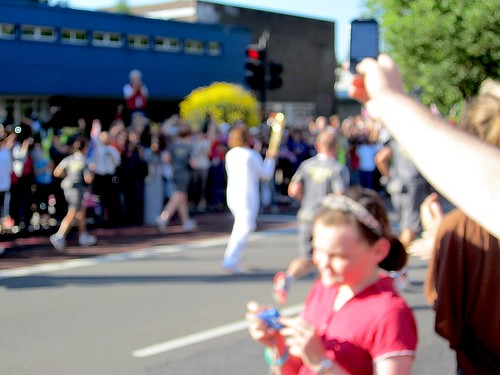 The Olympic torch | by Andy Worthington